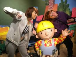 nicole kelsey bob builder picture madame tussauds