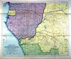 Gabon Africa Map by Congo Gabon Map