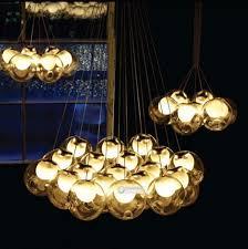Halogen Chandelier 19 Cluster Halogen Bulbs Fit Ac110 240v Bocci 19 Heads Chandelier
