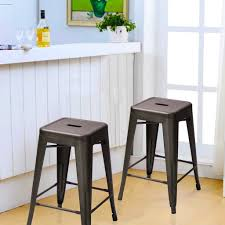tolix bar stools for sale bronze metal tolix style chair counter stool set of 2 on sale