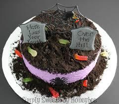 dirt cake halloween graveyard cake video tutorial simplysweetsbyhoneybee com