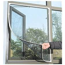 Awning Window Fly Screen Adjustable Diy Magnetic Window Screen Max 55