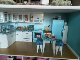 18 inch doll kitchen furniture an doll house kitchen complete with built in