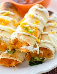 Buffalo Chicken Baked Bufffalo Chicken Taquitos U2013 Recipe Diaries