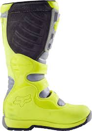 used youth motocross boots fox kids mx boots comp 5y yellow grey 2017 maciag offroad