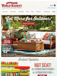 Cost Plus Outdoor Furniture Cost Plus World Market New Outdoor Arrivals 10 Coupon Free