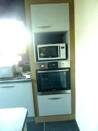 meuble cuisine four et plaque meuble four encastrable plaque cuisson meuble four encastrable et