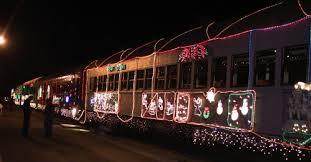 christmas lights train ride niles canyon railway train of lights announcement tickets sunol