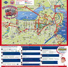 Boston And New York Map by Tour Map Of Boston You Can See A Map Of Many Places On The List