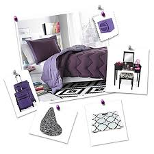 Bed Bath And Beyond Dorm Purple Dorm Room Collection Bed Bath U0026 Beyond