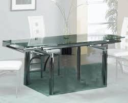 glass dining table and chairs black and white chair 60 inch round