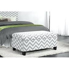 Cushioned Ottoman Bedroom Footstool Bedroom Storage Ottoman Bench Trunk Upholstered
