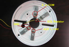 how to wiring smoke detectors to burglar alarm system technology