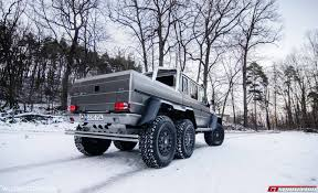 mercedes g class 6x6 mercedes benz g63 amg 6x6 winter wonderland photoshoot gtspirit