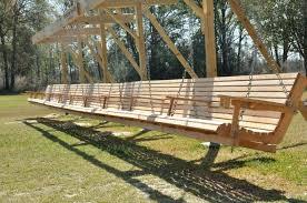 garden swing bench canopy deck swing wooden garden swings with