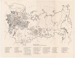 Ussr Map Ussr Concentration Camps U0026 Prisons Cornell University Library