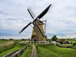 photo windmill in kinderdijk netherlands vikingriver