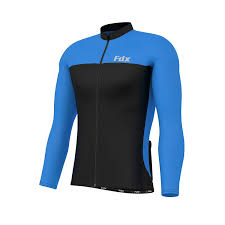 black cycling jacket fdx mens cycling jersey full sleeve winter thermal cold wear