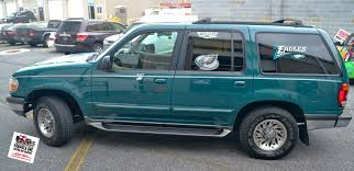 Ford Explorer 1994 - gotshadeonline custom vehicle wraps tinting and paint protection