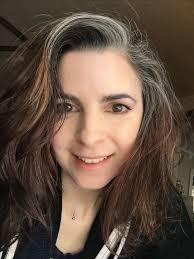 grey streaks in hair gallery grey streak in hair black hairstle picture