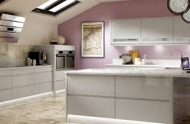 first holborn gloss light grey kitchen benchmarx kitchens joinery