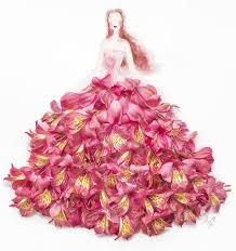 flower dress drawings wearing flower dresses by lim zhi wei