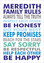 Family House Rules by Inspirational Quotes About Family Values Inspirational Picture