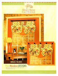 window valance sewing patterns window valance patterns