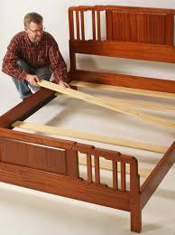 Slat Frame Bed Bed Slats Woodworker S Journal How To