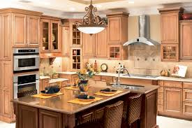 kitchen classic kitchen design with natural maple kitchen cabinet