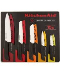 kitchen aid knives check out these hot deals on kitchen aid ceramic cutlery set 10 count