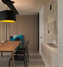 Large Black Pendant Light Home Designs Taiwanese Apartment With Simple Layout And Punchy