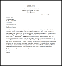 cover letter for applying accounting 28 images accounting