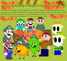 happy thanksgiving day in weegee in united states by ivanweegee123