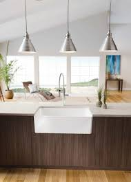 modern kitchen sink modern kitchen with white undermount porcelain sink under hanging