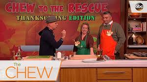 the chew thanksgiving turkey recipes michael symon u0027s stuffing tips the chew youtube