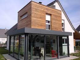 Veranda Pour Terrasse Extension Terrasse Avec étage En Ossature Bois Veranda