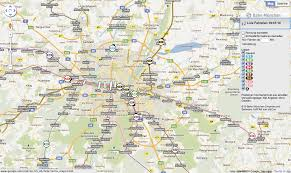 Google Map Europe by