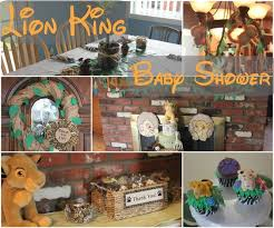 lion king themed baby shower clearwater cottage lion king baby shower