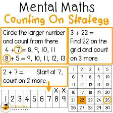 best 25 mental math strategies ideas on maths sums