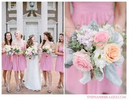 help real pictures of bill levkoff bridesmaid dresses in coral or