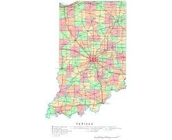 State Of Indiana Map Maps Of Indiana State Collection Of Detailed Maps Of Indiana