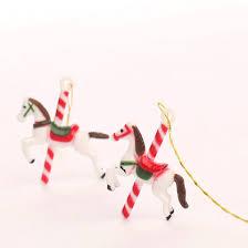 miniature carousel ornaments ornaments