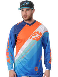 kenny motocross gear kenny mx blue split performance mx jersey kenny mx