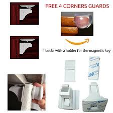 liquor cabinet with lock and key amazon com baby magnetic cabinet locks child safety drawer locks