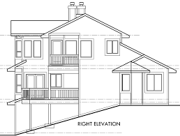 Sloping Lot House Plans View Home Sloping Lot Multi Level House Plan 3d Home 360 View