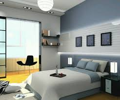 modern bedroom ideas for men round grey fur rug cream fabric