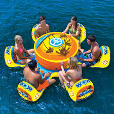 floating table for pool multi person floats for your next pool party simplemost