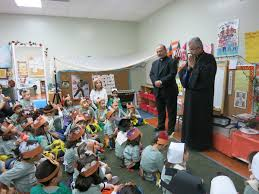 prelate visits tufenkian school on the of thanksgiving