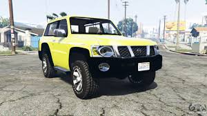 nissan patrol gl vtc y61 2016 v1 1 replace for gta 5